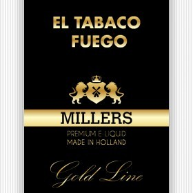 Millers Juice Goldline El Tabaco Fuego 10ml E-Liquid