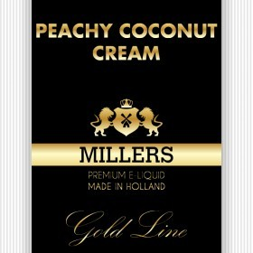 Millers Juice Goldline Peachy Coconot Dream 10ml E-Liquid