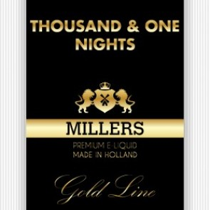 Millers Juice Goldline 1001 Nights E-Liquid 10ml