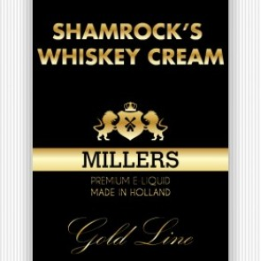 Millers Juice Goldline Shamrock Whiskey Cream 10ml E-Liquid