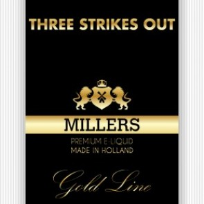 Millers Juice Goldline Three Strikes Out E-Liquid