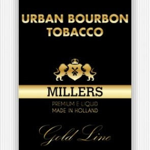 Millers Juice Goldline Urban Bourbon Tobacco 10ml E-Liquid