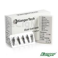 KangerTech Upgraded Dual Coils