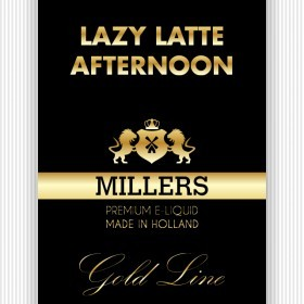 Millers Juice Goldline Lazy Latte Afternoon E-Liquid