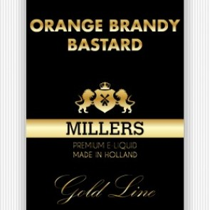Millers Juice Goldline Orange Brandy Bastard 10ml E-Liquid