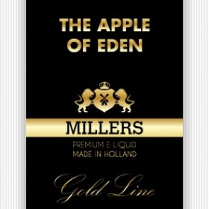 Millers Juice Goldline The Apple Of Eden 10ml E-Liquid