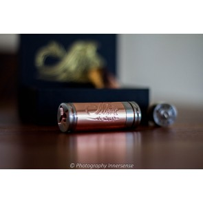 Stingray red copper mechanical mod liggend
